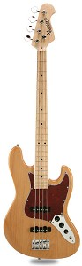 JB  Bass Alder Body Maple Neck Vintage Natural Maple Fingerboard